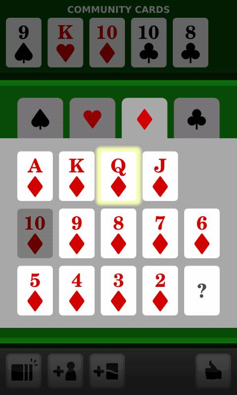 Poker Odds Calculator Pro - screenshot