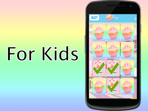 免費下載解謎APP|CupCakes Memory Games For Kids app開箱文|APP開箱王