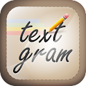Textgram – create cute & fun picture messages with text to share on social networks like Instagram