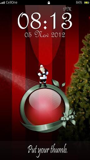 Christmas Fingerprint Scanner
