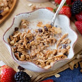 Oatmeal Cookie Granola.