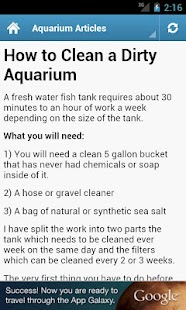 Aquarium Guide! - screenshot thumbnail