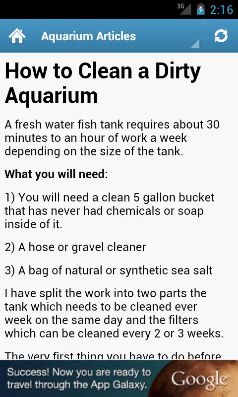 Aquarium Guide! - screenshot