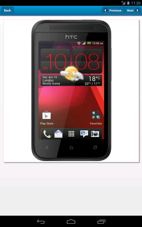 The Phone Database - screenshot