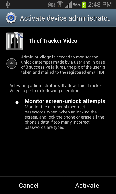 Thief Tracker - Video- screenshot