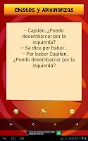 Screenshot of Chistes y Adivinanzas