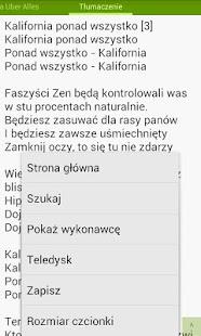 Tekstomobil - teksty piosenek - screenshot thumbnail
