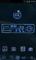 Screenshot of Future Theme GO Power Master