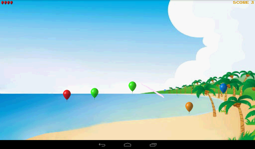 Balloon Ninja - screenshot