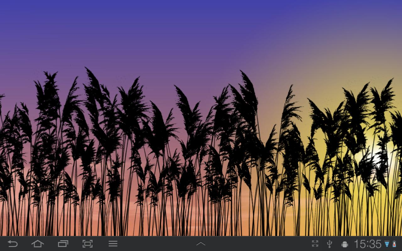 Reeds Free Live Wallpaper - screenshot
