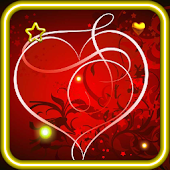 Valentine Red Hearts HD LWP