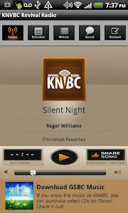 KNVBC Radio - screenshot thumbnail