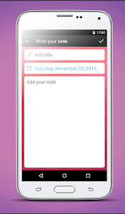 Diary notes - with lock v2.0