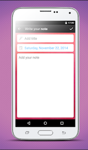 Diary - with lock- screenshot thumbnail