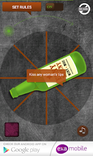 Spin the Bottle Kissing Game- screenshot thumbnail