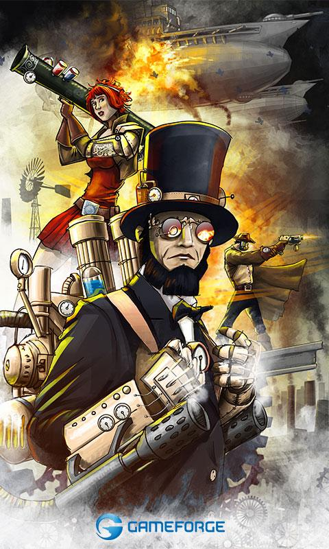 Steampunk Game - screenshot