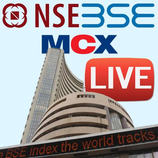 NSE BSE MCX LIVE INDIA LOGO-APP點子