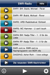 SWR-Radio - screenshot thumbnail