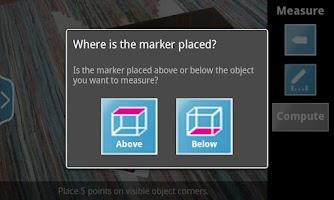 Screenshot of Happy Measure 3D Ruler