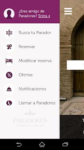 Paradores Hoteles&Restaurantes screenshot