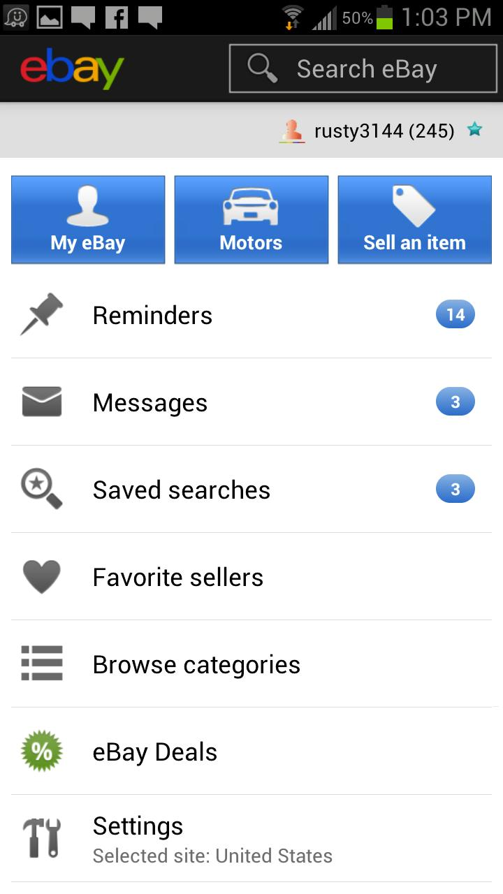 eBay Widgets screenshot #4