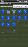 Screenshot of Soccer ITA GO Launcher Theme
