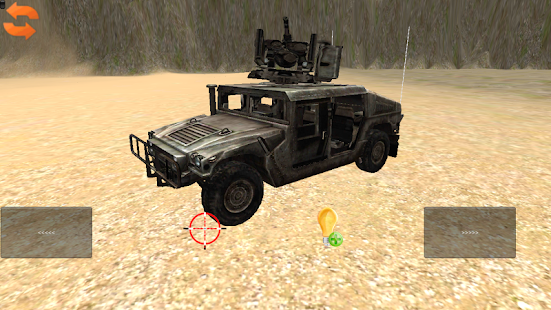 Toddler 3D Military Car Toy