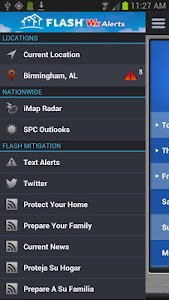 FLASH Weather Alerts screenshot 1