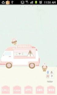 Pepe-icecream go launcher