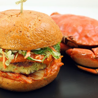 Singapore Chili Crab Burger.