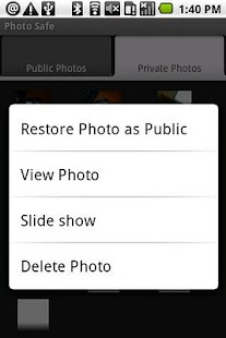 Photo Safe (PS) - screenshot thumbnail