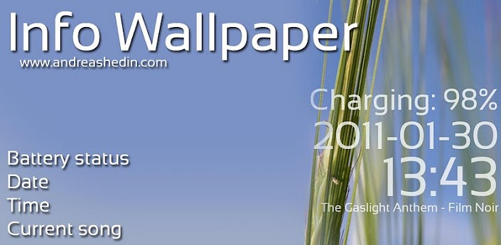 Info Wallpaper v1.6