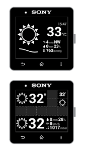 SmartWeather for SmartWatch screenshot 2