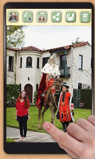 Hazte foto con los reyes magos