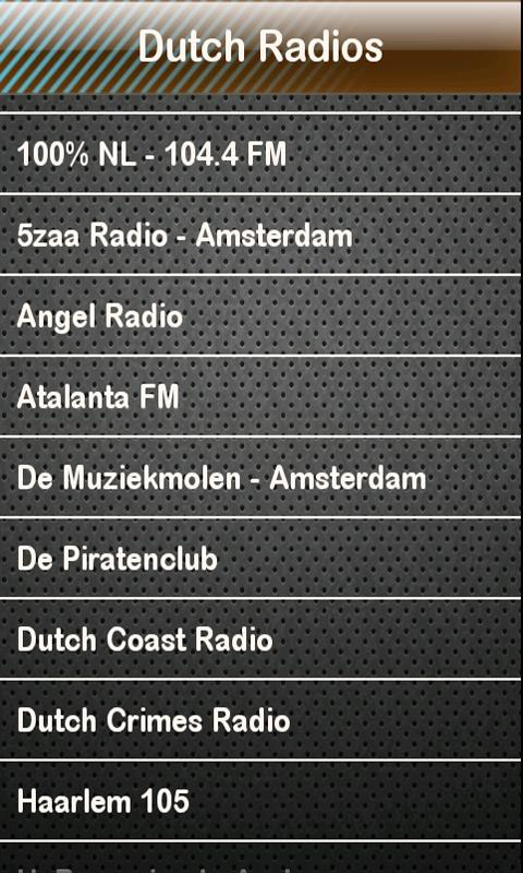 Dutch Radio Dutch Radios - screenshot