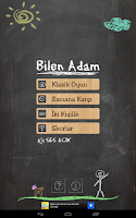 Screenshot of Bilen Adam - Adam Asmaca Oyunu