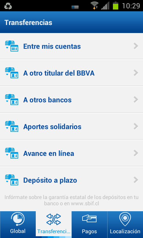 BBVA | Chile - screenshot