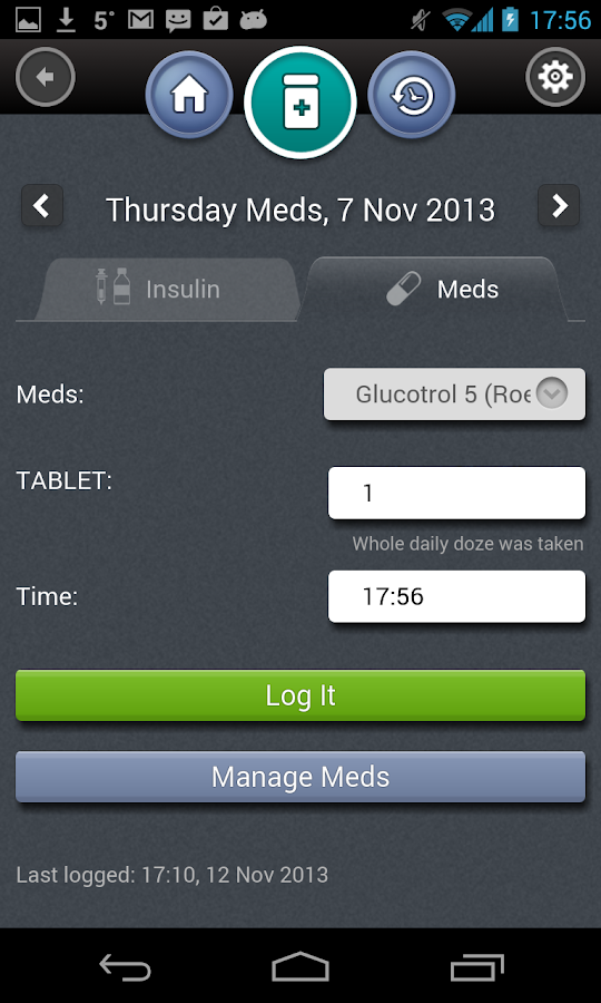 HealthMobile.D - screenshot