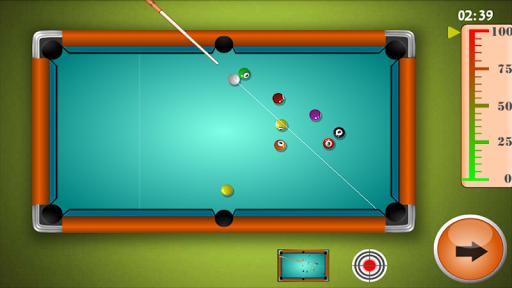 9 Ball Billiards Game