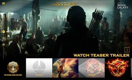 The Hunger Games Movie Pack Screenshot 1