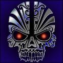 TITANIUM TRIBAL SKULL THEME icon