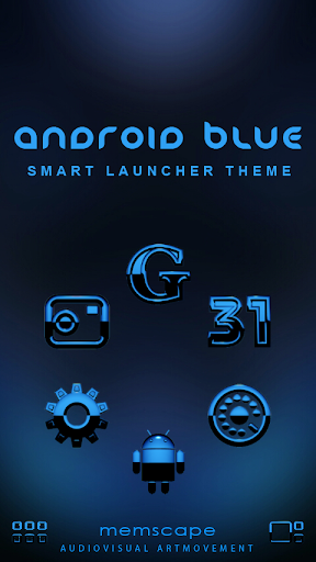 SL Theme Android Blue