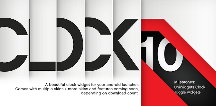 CLOCK10 PRO Clock time widget apk