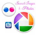 Picasa – Flickr Image Search logo
