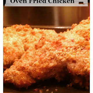Crispy Oven Fried Chicken with Panko.