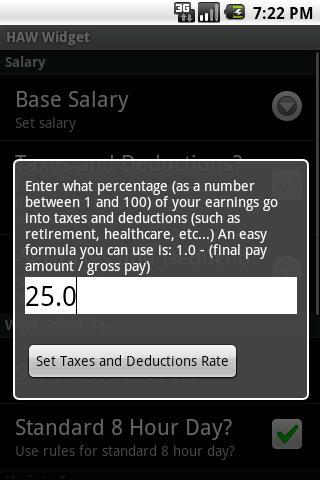 Haw Widget- screenshot