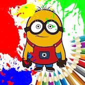 coloring minions books