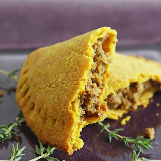 Jamaican Meat Pies (low carb and gluten free).