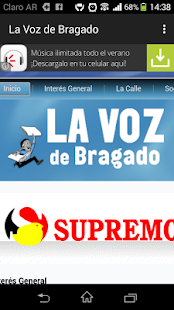 La Voz de Bragado- screenshot thumbnail