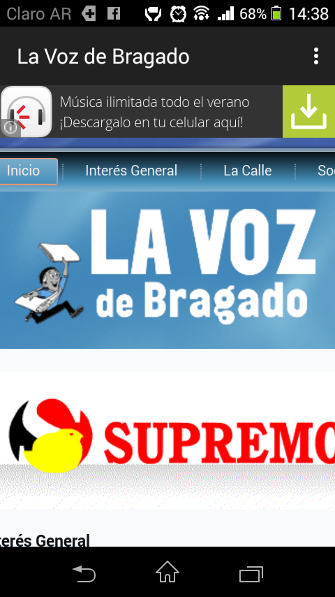 La Voz de Bragado- screenshot